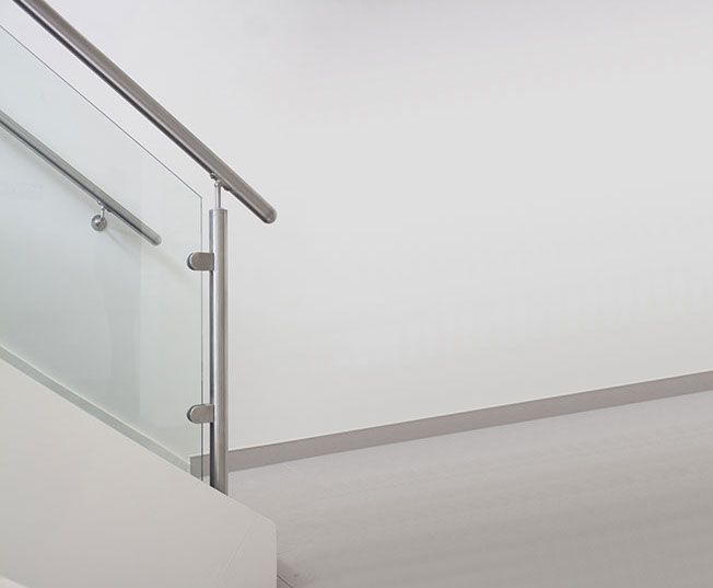 Stainless Steel Handrail Installation