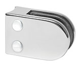 Mirror Finish Stainless Steel Glass Clamp