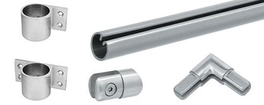 Split Tube Railing Components