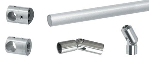 Rod & Bar Handrail Components