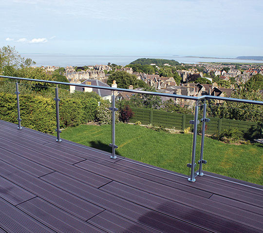 Stainless Steel Pre-asssembled Posts & Glass
