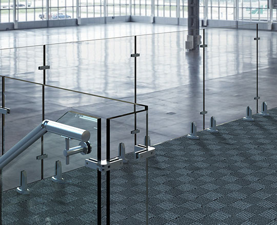 Stainless Steel Glass Stiffeners
