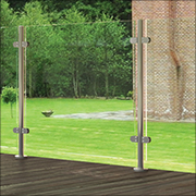 Pre-Assembled Posts Without Handrail