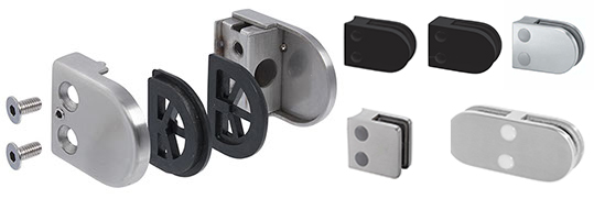 Glass clamp Components